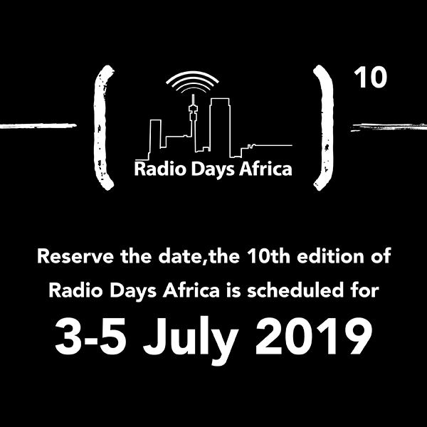 Radio Days Africa 305 July
